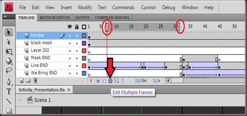 Edit Multiple Frames Screenshot